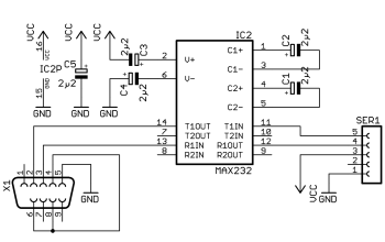 rs232 to ttl converter schematic rs232 wire colors wiring